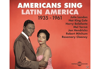 NAT KING COLE/JON HENDRICKS/HARRY BELAFONTE/EARTHA - Americans Sing Latin America 1935-1961 - (CD)