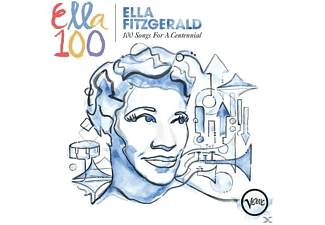 Ella Fitzgerald - 100 Songs For A Centennial - (CD)