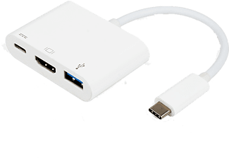 VIVANCO USB-C - HDMI, USB 3.1 & USB C adapter