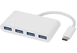 VIVANCO USB-C - 4x USB 3.1 adapter 5GB Super speed