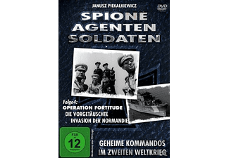 Spione, Agenten, Soldaten - Operation Fortitude , Invasion in der Normandie - (DVD)
