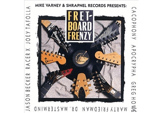 Mike Varney - Fretboard Frenzy - (CD)