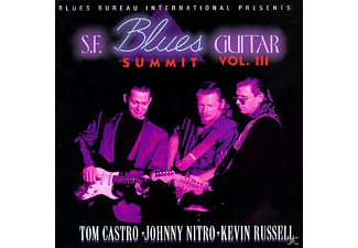 Tom Castro, Johnny Nitro, Kevin Russell - S.F.Blues Guitar Su - (CD)