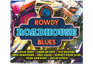 VARIOUS - Blues Bureau'S Rowdy - (CD)