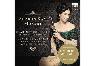 Sharon Kam - Klarinettenkonzert/-Quintett-Sonderedition - (CD)