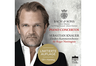 Sebastian Knauer, Zürcher Kammerorchester - Bach & Sons-Piano Concertos-Sonderedition - (CD)