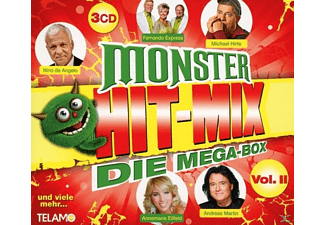VARIOUS - Monster Hit-Mix,Die Mega-Box Vol.2 - (CD)