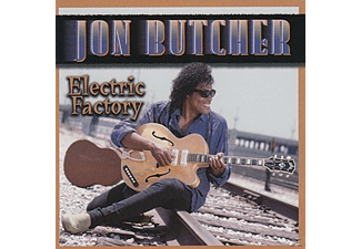 Jon Butcher - Electric Factory - (CD)