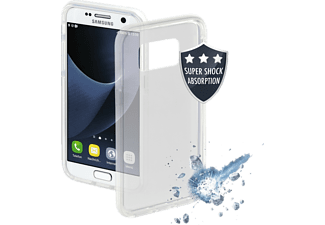 HAMA Protector, Backcover, Samsung, Galaxy S8, Thermoplastisches Polyurethan (TPU), Transparent/Weiß