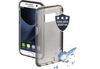 HAMA Protector, Backcover, Samsung, Galaxy S8, Thermoplastisches Polyurethan (TPU), Schwarz/Transparent