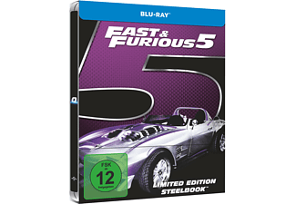 Fast & Furious 5 (Exklusives Steelbook) - (Blu-ray)
