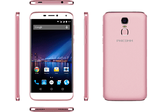 PHICOMM ENERGY 3+, Smartphone, 16 GB, 5.5 Zoll, Rose Gold