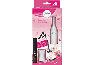 VEET Sensitive Precision Beauty Styler, Trimmer, Batteriebetrieb, Weiß
