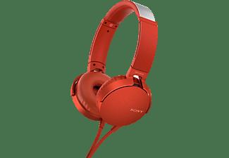 Sony Headphones MDRXB550AP Red