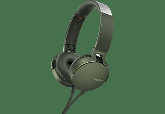Sony Headphones MDRXB550AP Green
