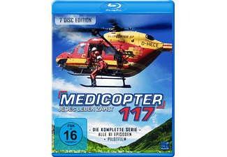 Medicopter 117 - Jedes Leben zählt - Gesamtedition (7 Disc Set) - (Blu-ray)