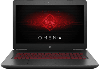 HP OMEN by HP 17-w103ng, Gaming-Notebook mit 17.3 Zoll Display, Core™ i7 Prozessor, 16 GB RAM, 1 TB HDD, 128 GB SSD, NVIDIA® GeForce® GTX 1060, Twinkle Black/Mesh-Muster