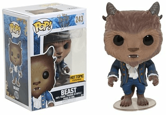 POP! Disney: Beauty and the Beast Flocked Beast