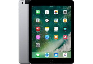 APPLE MP242FD/A iPad Wi-Fi + Cellular, Tablet mit 9.7 Zoll, 32 GB Speicher, LTE, iOS 10, Space Grey