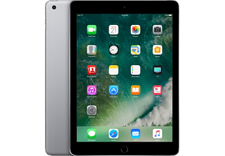 APPLE MP2H2FD/A iPad Wi-Fi, Tablet mit 9.7 Zoll, 128 GB Speicher, iOS 10, Space Grey