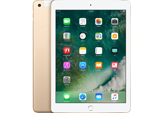 APPLE MPGC2FD/A iPad Wi-Fi + Cellular, Tablet mit 9.7 Zoll, 128 GB Speicher, LTE, iOS 10, Gold