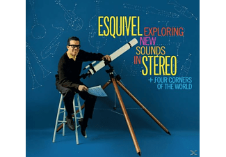 Juan Garcia Esquivel - Exploring New Sounds In Stereo+Four Corners - (CD)