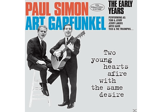 Paul & Art Garfunk Simon - Two Young Hearts Afire With The Same Desire-The E - (CD)