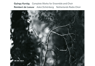 Gyoergy Kurtag - Complete Works For Ensemble And Choir - (CD)