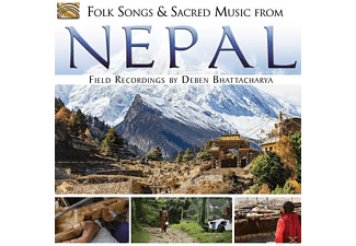 Field Recordings: Deben Bhattacharya - Folk Songs And Sacred Music From Nepal - (CD)