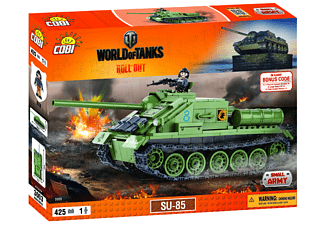 World of Tanks - Bausatz SU 85 (425 Teile)