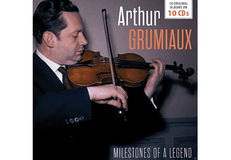 Arthur Grumiaux - Milestones of a Legend-10 Original Albums - (CD)