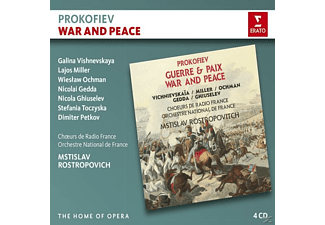 VARIOUS, Choers De Radio France, Orchestre National De France - War and Peace - (CD)