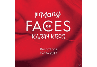 Karin Krog - The Many Faces Of Karin Krog (1967-2017) - (CD)