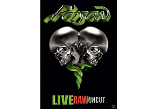 Poison - Live,Raw & Uncut - (CD + DVD Video)
