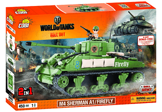 World of Tanks - Bausatz Sherman A1 (450 Teile)