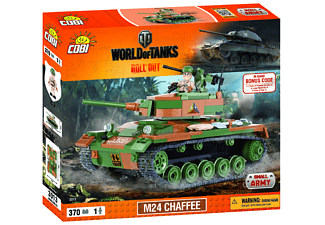 World of Tanks - Bausatz M24 Chaffee (370 Teile)