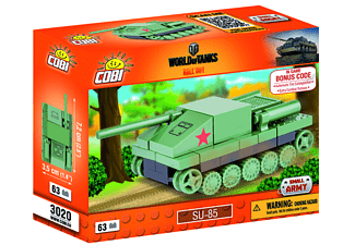 World of Tanks - Bausatz SU 85 Nano Tank - sortiert!