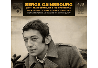 Serge Gainsbourg - Serge Gainsbourg - 4 Classic Albums Plus Eps 1958 - 1962 (CD)
