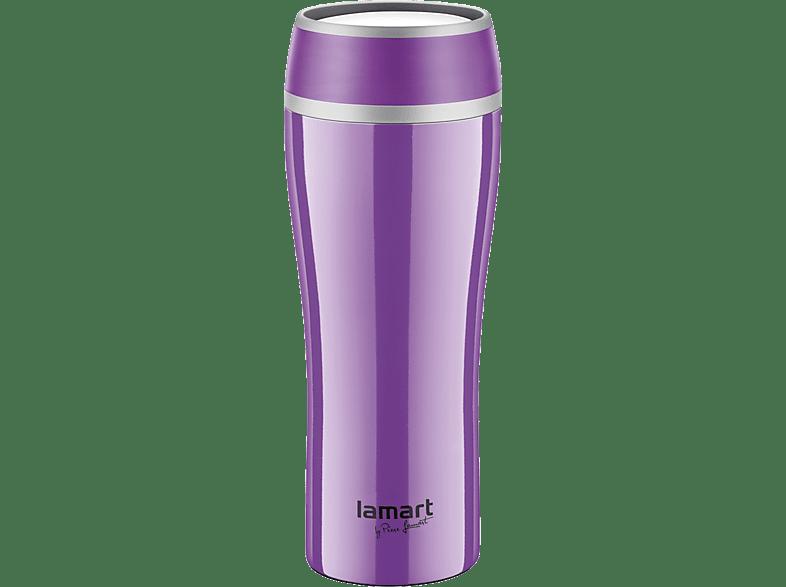 LAMART Ανοξείδωτος Θερμός 400Ml Μωβ (LT4025) είδη σπιτιού   μικροσυσκευές καφετιέρες  καφές αξεσουάρ καφέ προσωπική φροντίδα