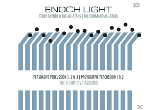 Enoch Light, Terry Snyder & The All-Stars, Command All Stars - Persuasive & Provocative Percussion - (CD)