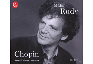 Mikhail   Piano Rudy - Rudy spielt Chopin - (CD + DVD Video)