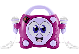 "BIGBEN CD59 ""MY BUBBLE"", CD-Player, Rosa/Lila"