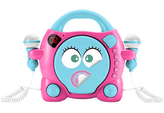 "BIGBEN CD59 ""MY MIA"", CD-Player, Rosa/Blau"