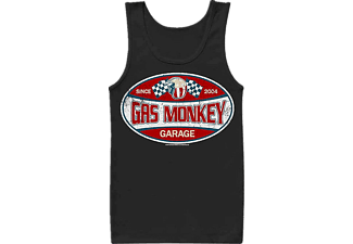 Gas Monkey Garage Label Tank Top S