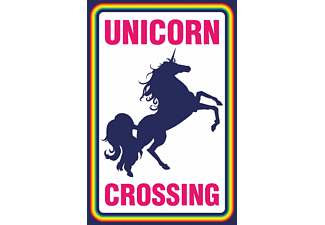 Einhorn Poster Unicorn Crossing