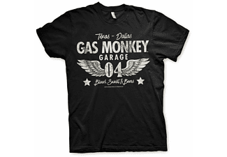 Gas Monkey Garage America 04-Wings T-Shirt L