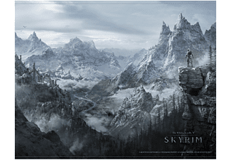 The Elder Scrolls v Skrim Wallscroll Valey