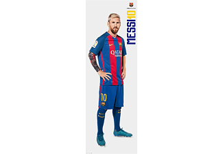 Lionel Messi Langbahnposter FC Barcelona