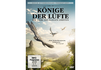 David Attenborough: Könige der Lüfte (3 DVDs) - (DVD)