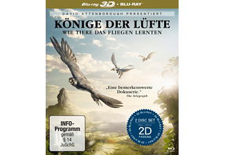 David Attenborough: Könige der Lüfte (2 Blu-rays) (3D/2D) - (3D Blu-ray (+2D))